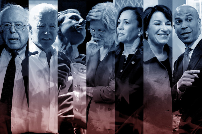 What The Democrats 2020 Field Looks Like Now These Seven